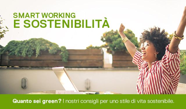 Smart Working e Sostenibilità